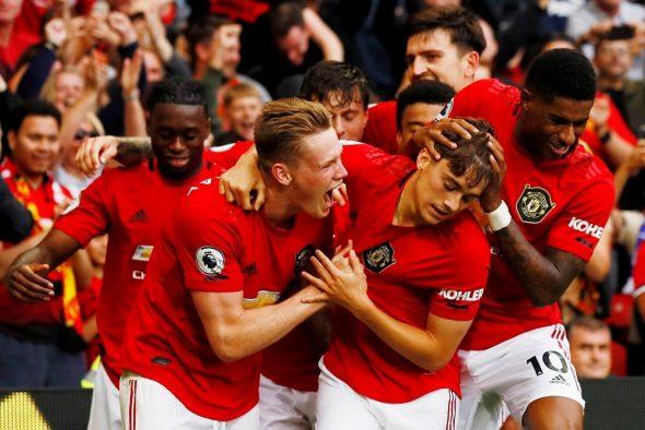 ManU tops Premier League